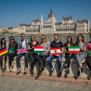 IBS Students in Budapest